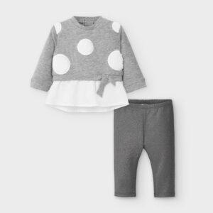 Conj. leggings combinado PLATA – MAYORAL