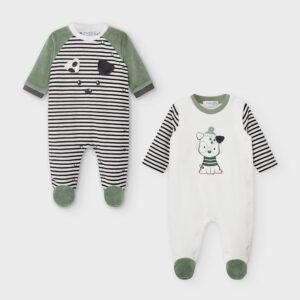 Set 2 pijamas tundosado OLIVO – MAYORAL NB