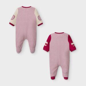 Set 2 pijamas interlock GRANATE – MAYORAL NB