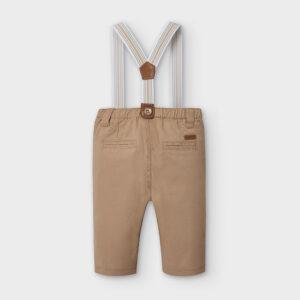 Pantalon largo tirantes AVELLANA – MAYORAL NB
