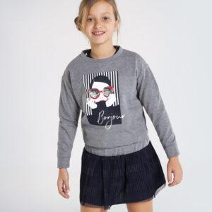Pullover felpa ACERO – MAYORAL