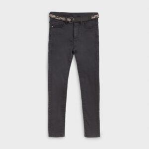 Pantalon straight fit cinturo