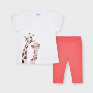 Conj. leggings jirafa CORAL – MAYORAL