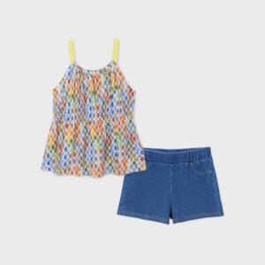 Conj. short camiseta estampad LIMON – MAYORAL