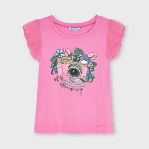 Camiseta tirantes camara foto CAMELIA – MAYORAL