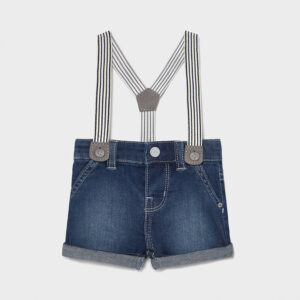 Pantalon corto tejano tirante TEJANO – MAYORAL NB
