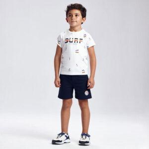 Conj. punto 2 camisetas NARANJA – MAYORAL