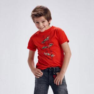 Camiseta m-c tropical skater HIBISCO – MAYORAL